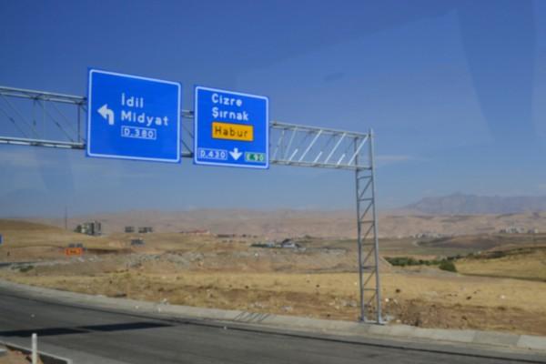 La ruta sigue hasta Silopi, el último pueblo turco, y Habur, ya en Irak