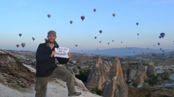 La Odisea por el Mundo, también en Cappadocia