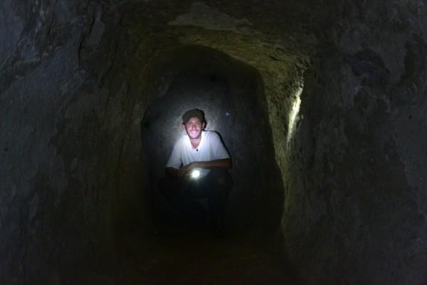 Cuevas subterráneas cerca del Göreme Open Air Museum