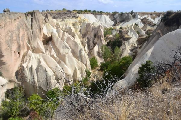 El paisaje surrealista de Cappadocia