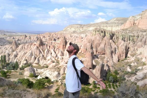 Caminata por el Valle Rojo, al noreste de Göreme