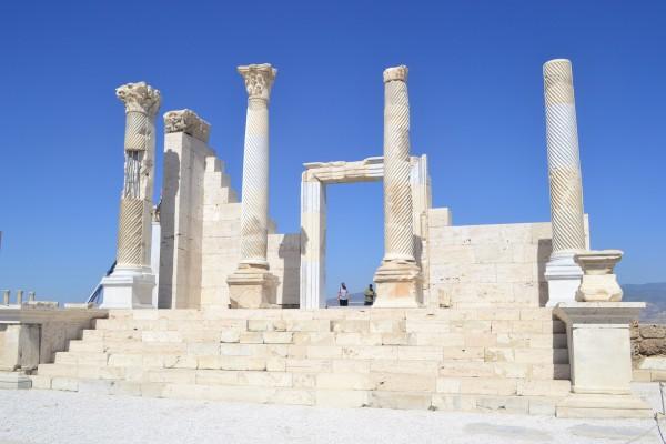 Ruinas de Laodicea, también muy cerca de Pamukkale