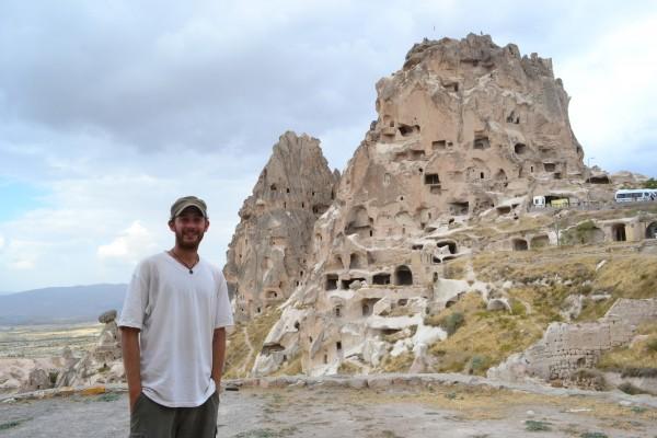Castillo de Uchisar, al sur de Göreme