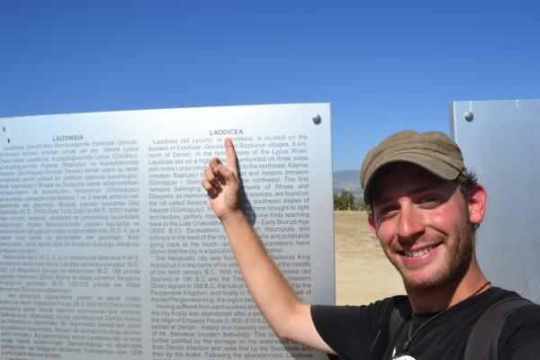 La Odisea en las ruinas de Laodicea!!