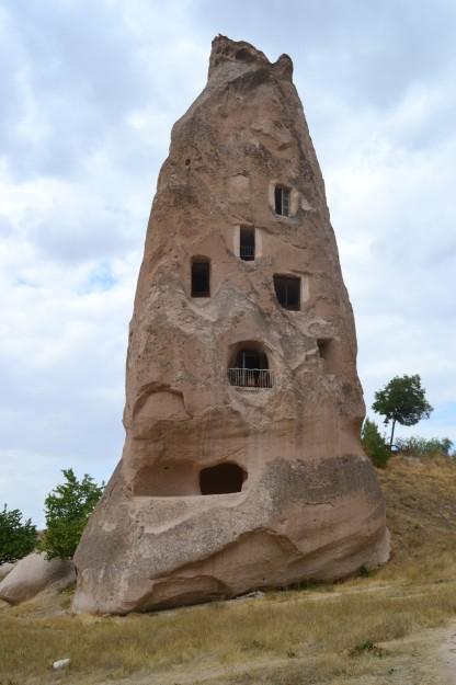 Chimeneas de hadas, en Cappadocia