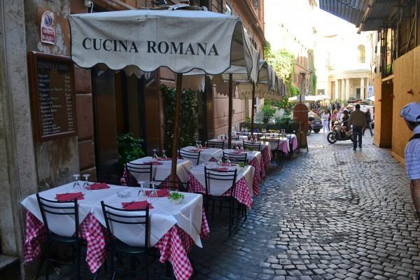 La gastronomía, uno de los placeres de Roma