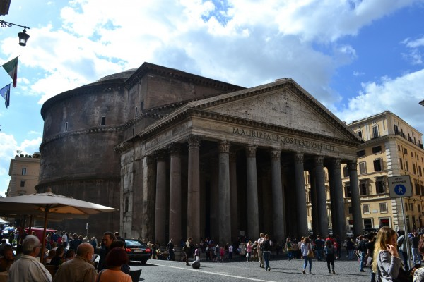 El sublime Pantheon romano