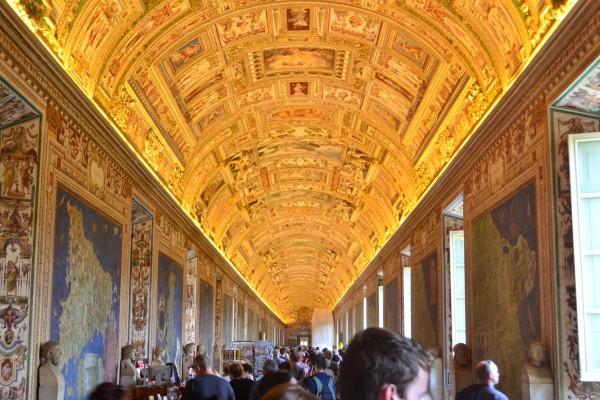 La preciosa galería de los mapas, Museos Vaticanos