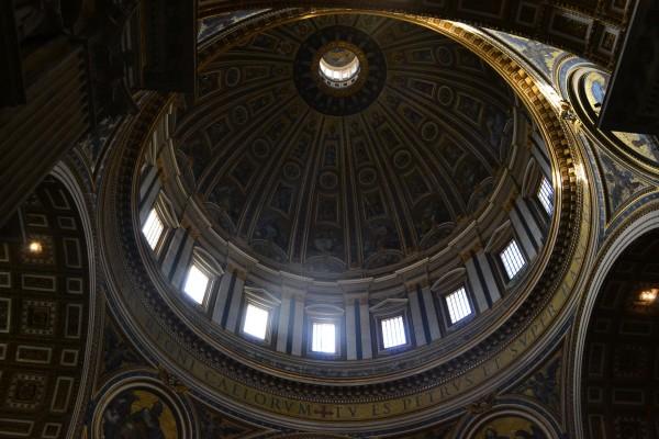 Bóveda de la Basílica de San Pedro
