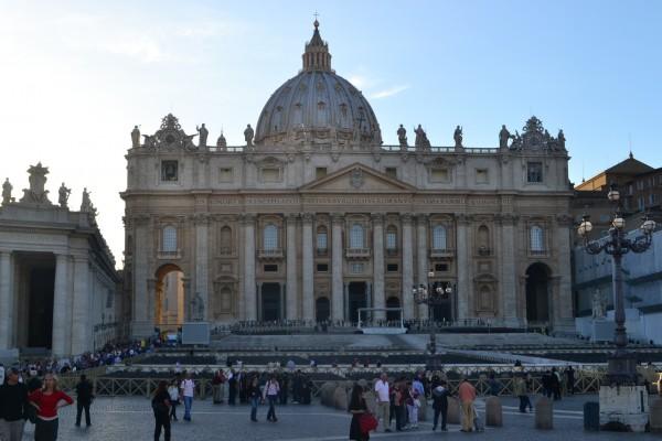 Basílica de San Pedro, desde la Piazza