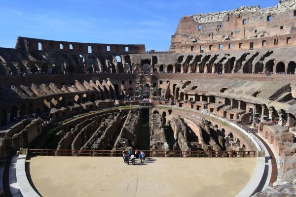 El Coliseo, por dentro