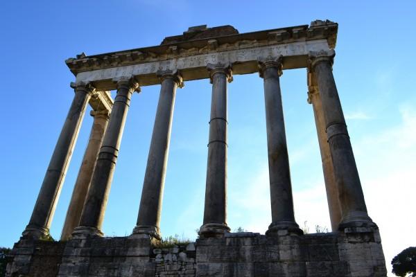 Templo de Saturno, en el Foro Imperial