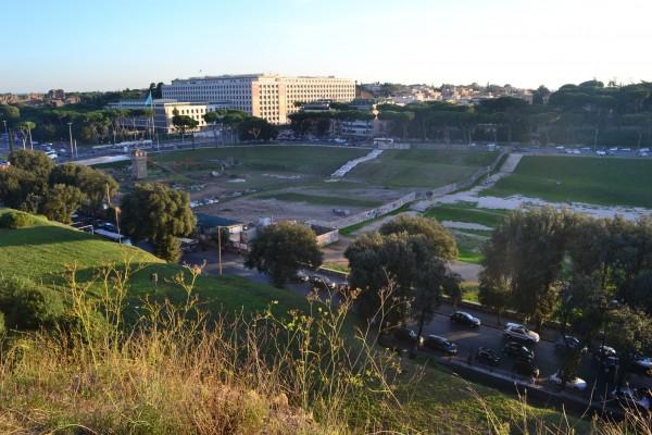 Circo Massimo, desde la Colina del Palatino