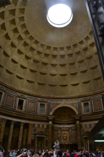 El Pantheon, por dentro
