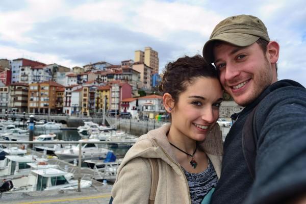 Juntos en Bermeo, uno de los pueblos más pintorescos de Bizkaia, la provincia de la cuál Bilbao es capital.