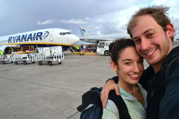 ¡Finalmente en el Aeropuerto de Marrakech!