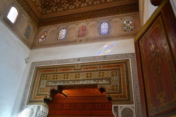 Decorados islámicos del Palacio Bahía