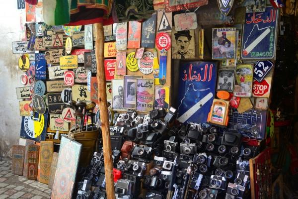 En los zocos marroquíes se puede encontrar de todo, como véran...
