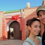 Primeras anécdotas desde suelo africano: La gran ciudadela roja de Marruecos