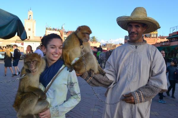 ¡De estos no pudimos escapar, y a Jani le pusieron dos monos encima!
