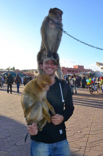 Si si, para mi también hubo, y al instante el mono astuto me manoteó la gorra