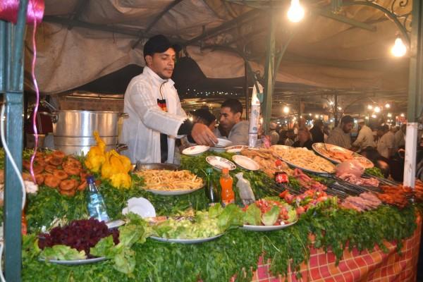 Restaurantes al aire libre en Djemaa el Fna