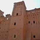 Kasbahs dentro de Ait Benhaddou