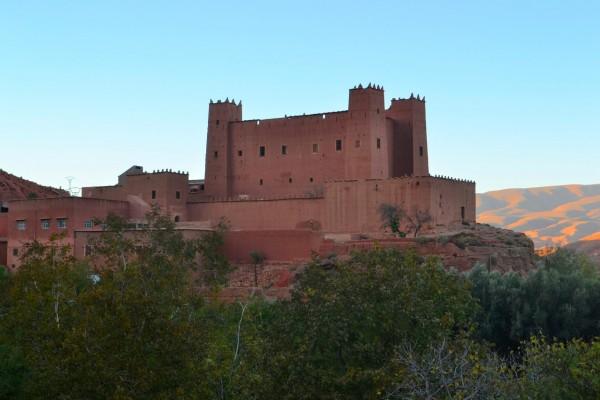 La kasbah de Ait Moutad, famosa en las Gargantas del Dades