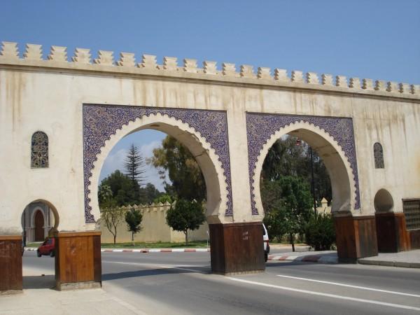 Bab Riafa, entrada a la medina por el sur (fuente: Badr Guennoun)