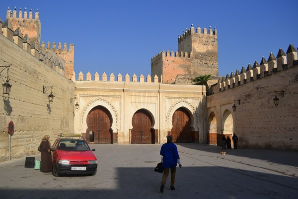 Puerta Dhaken, ingreso a la zona conocida como Viejo Menchuar