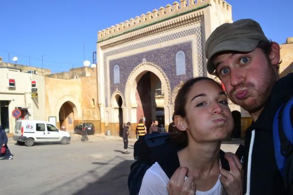En Puerta Boujloud, ¡el icono de Fez!