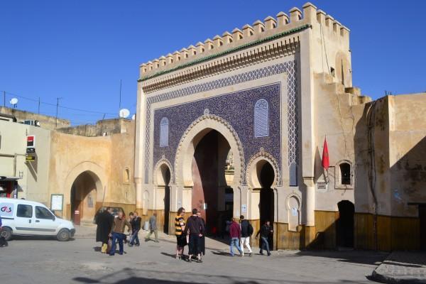 Bab Boujloud, el precioso arco de ingreso a la medina de Fez