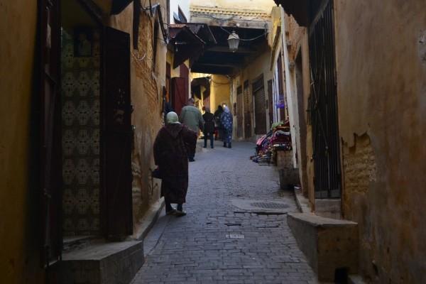 Callecitas de la medina de Fez