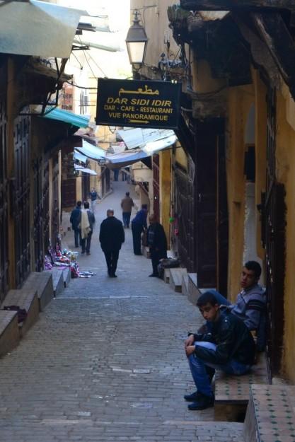 Calle principal de la medina