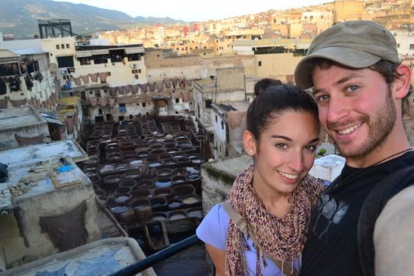 En la Curtiembre Chouwara, la más grande de Fez y más antigua del mundo