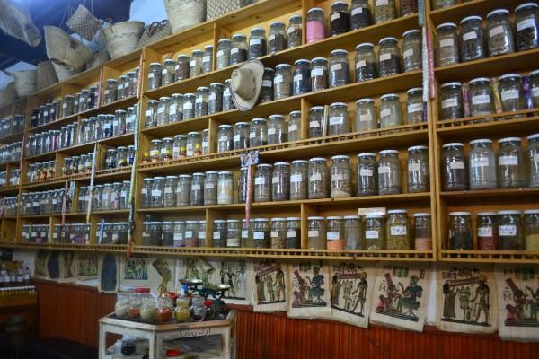 Mercados de especias y hierbas