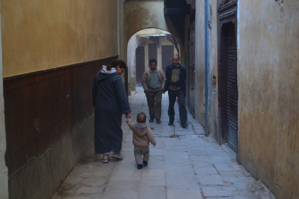 Madre e hijo. ¡Una imagen de Fez que nos encanta! (versión 1)