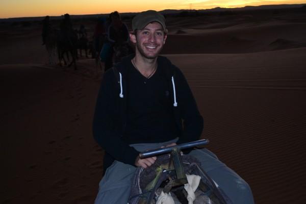 Cumpliendo un gran deseo al venir a Marruecos