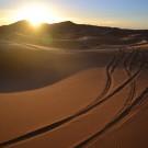 Amanecer en el Sáhara