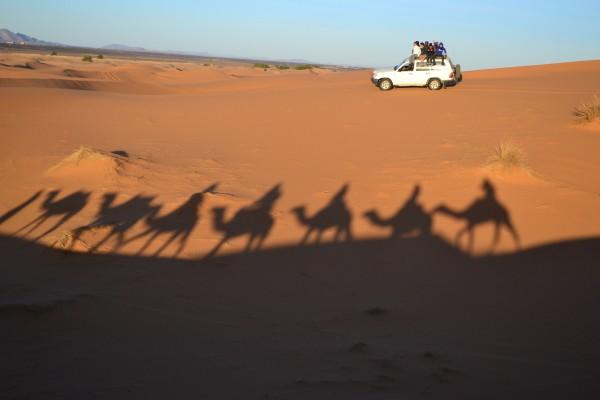 4x4, una opción divertida pero menos autóctona de disfrutar del desierto