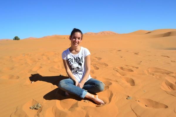 Aprovechamos el desierto para sacarnos unas cuántas fotos...