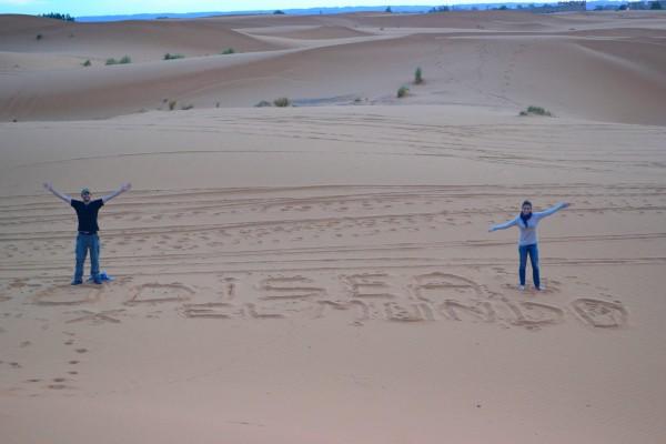 ¡Los Odiseos los saludan desde el Sahara!