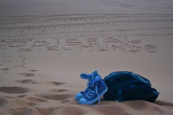 ¡Saludos desde el Sahara!