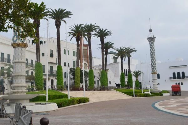 Plaza Hassan II, las puertas de la medina de Tetouan