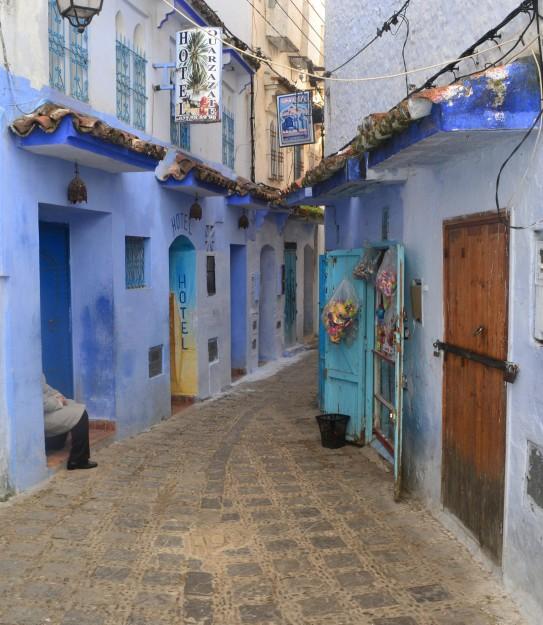 Chefchaouen, la ciudad-piscina del norte marroquí