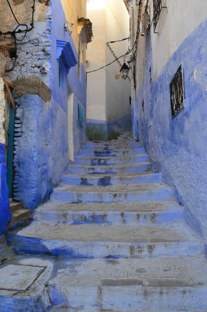Chefchaouen, la ciudad piscina del norte marroquí