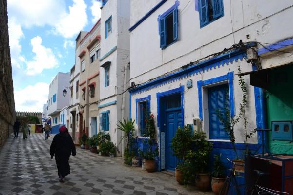 Assilah, la medina azul y blanco