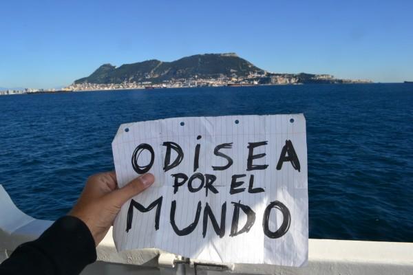Odisea por el Mundo, en el Estrecho de Gibraltar
