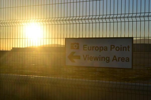 Atardecer en el Europa Point de Gibraltar