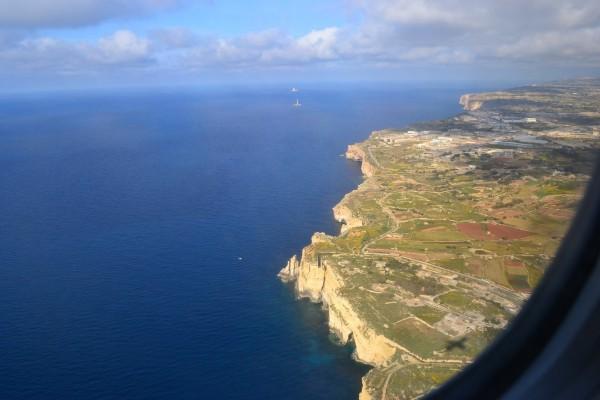 Costa maltesa, cerca de Benghajsa
